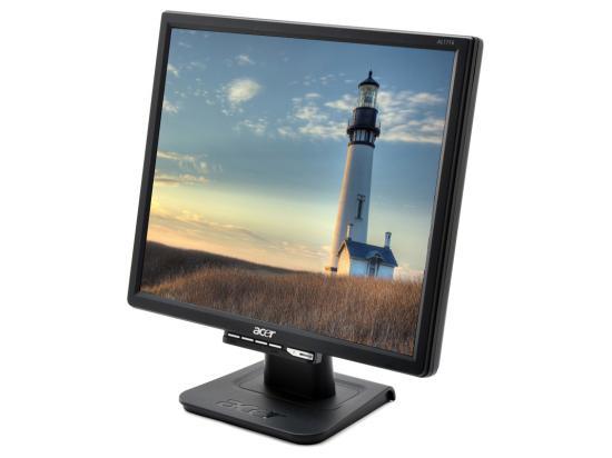 """Acer AL1716 17"""" Black LCD Monitor - Grade A"""