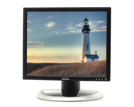 """Dell 1703FP 17"""" Silver/Black LCD Monitor - Grade C"""