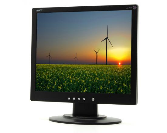 """Acer AL1914 19"""" Black LCD Monitor - Grade A"""