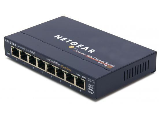 Netgear FS108 8-Port 10/100 Network Switch