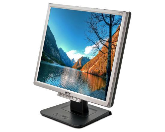 """Acer AL1716 17"""" Silver/Black LCD Monitor - Grade A"""