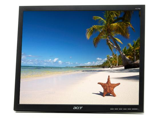 """Acer V173 17"""" LCD Monitor - Grade A - No Stand"""