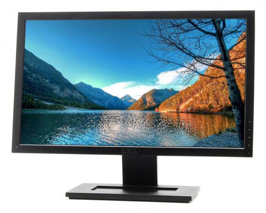 """Dell E2010H - Grade A - Missing Button Cover - 20"""" Widescreen LCD Monitor"""