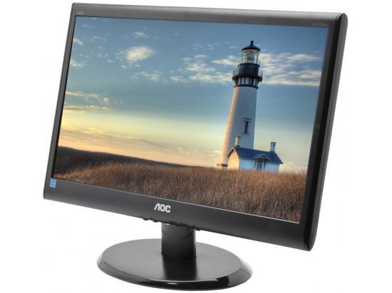 """AOC e950Swn - Grade C - 18.5"""" Widescreen LCD Monitor"""