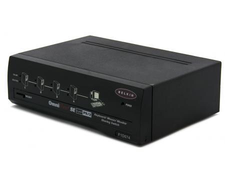 Belkin OmniView SE 4-Port KVM Switch