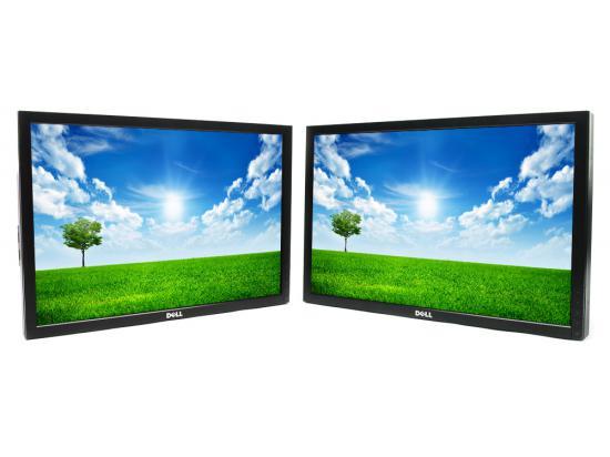 "Dell P2210t 22"" Widescreen Dual LCD Monitors - Grade A - No Stand"