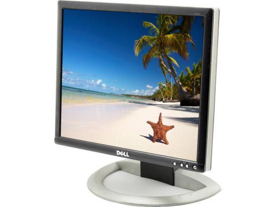 """Dell Ultrasharp 1704FP 17"""" LCD Monitor - Grade B - Silver/Black"""
