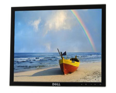 """Dell 1708FP 17"""" Silver/Black LCD Monitor - Grade A  - No Stand"""