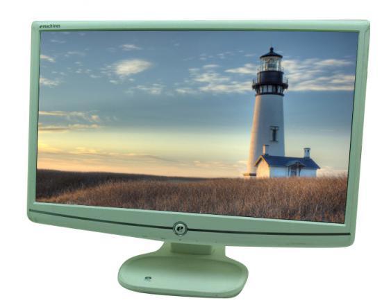"eMachines E202H 20"" White Widescreen LCD Monitor  - Grade A"
