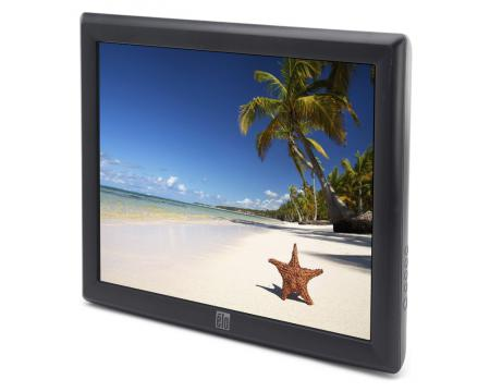 """Elo ET1715L-8CWB-1-GY-G 17"""" Touchscreen LCD Monitor - Grade A - No Stand"""