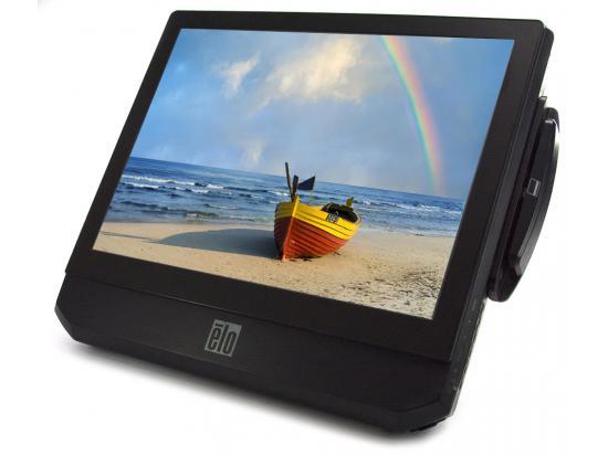 """Elo Celeron E1500 15"""" Black LCD Touchscreen Monitor - Grade C - No Stand"""