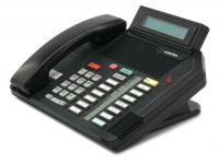 Nortel Meridian M5316 16-Button Black Display Speakerphone - Grade A - Aastra Branded