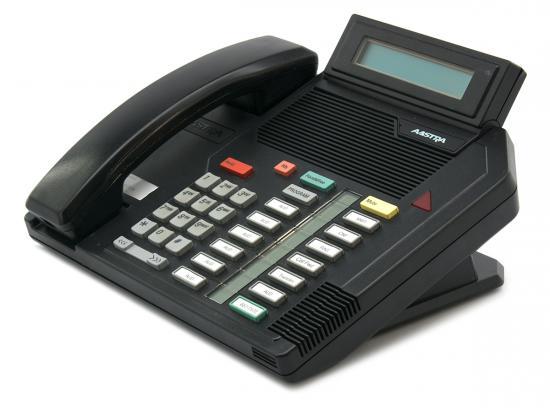 Nortel Meridian M5316 16-Button Black Display Speakerphone - Grade A - Aastra Branded