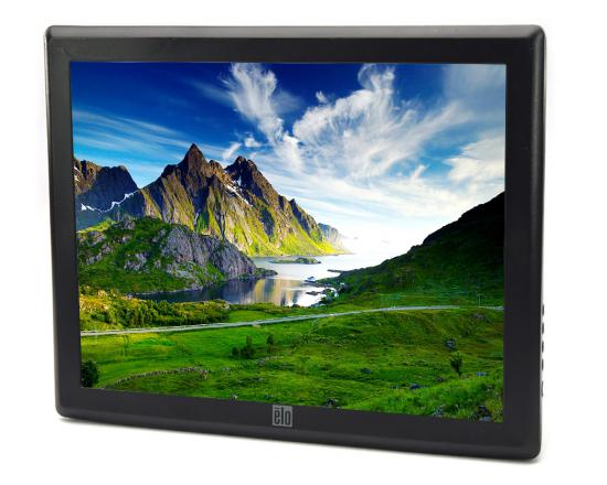 """Elo 1515L-8CWC-1-GY-G 15"""" LCD Touchscreen Monitor - Grade A - No Stand"""