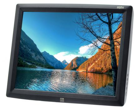 """Elo  ET1529L-8CWA-1-GY-T-G - Grade A - No Stand - 15"""" LCD Touchscreen Monitor"""