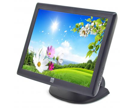 "Elo  ET1515L-8CWC-1-GY-G  15"" LCD Touchscreen Monitor - Grade A"