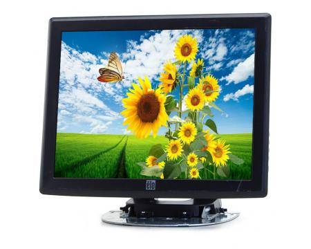 """Elo Touch Systems ET1515L-8CWC-1-GY-G 15/"""" LCD Touchscreen MonitorA Grade"""