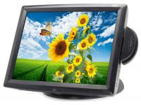 "Elo ET1529L-8UWC-1-M3C2-G - Grade A - 15"" LCD Touchscreen Monitor w/ Back Display and Card Reader"
