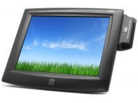 "Elo ET1525L-8UWC-1-MSRKB15"" LCD Touchscreen Monitor w/ Card Reader - Grade A"