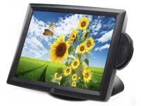 "Elo ET1529L-8UWA-1-GY-M3-G - Grade A - 15"" Touchscreen LCD Monitor w/ Card Reader"