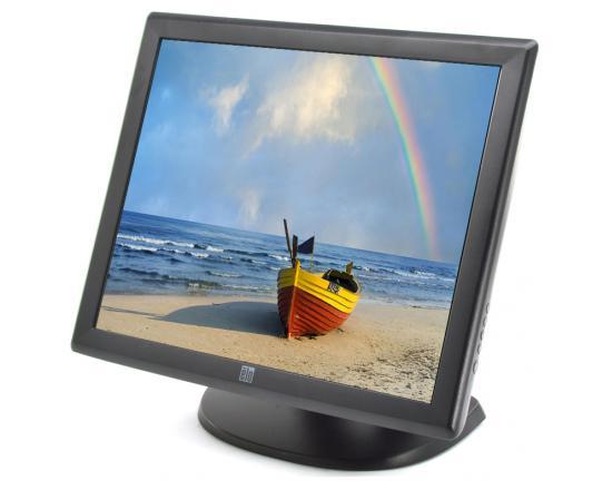 """Elo ER1928L 19"""" Black LCD Touchscreen Monitor - Grade C"""