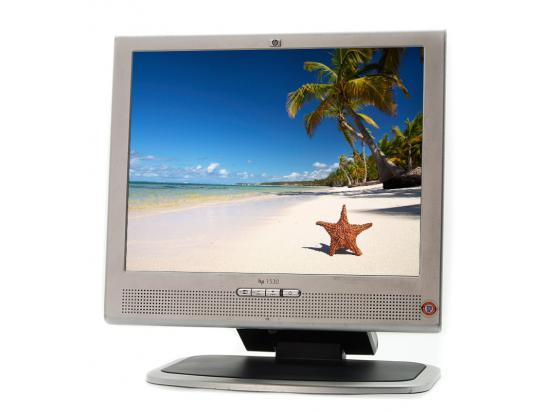 """HP 1530 15"""" LCD Monitor - Grade A"""