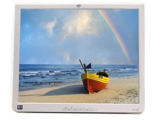 """HP 1740 17"""" LCD Monitor  - Grade A - No Stand"""