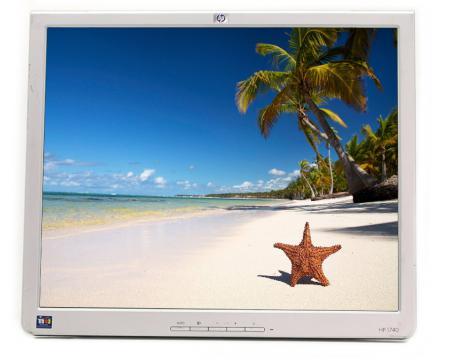 """HP 1740 - Grade C - No Stand -17"""" LCD Monitor"""