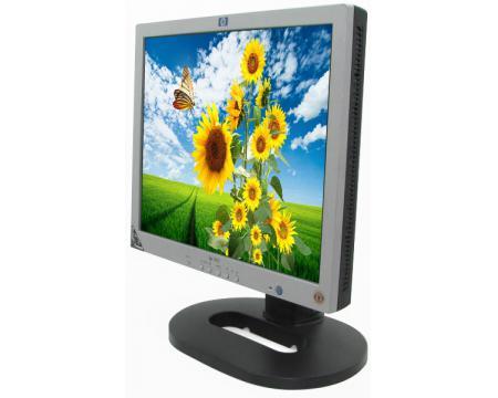 """HP L1825 18"""" Black/Silver LCD Monitor - Grade A"""