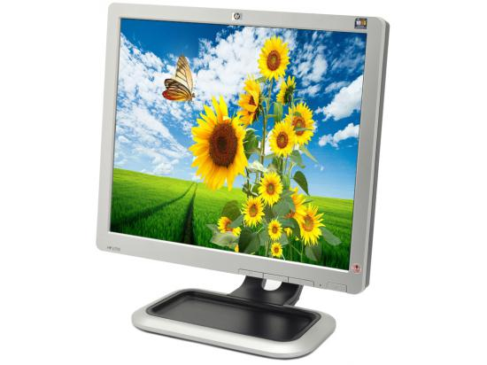 """HP L1710 --LOT OF 5-- Grade A - 17"""" LCD Monitor LOT OF 5"""