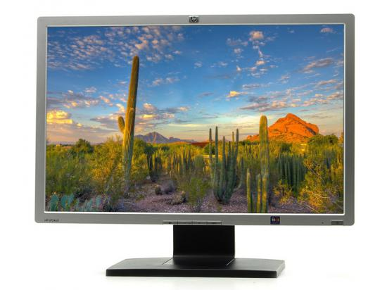 "HP LP2465 - Grade C - Missing Button - 24"" LCD Monitor"