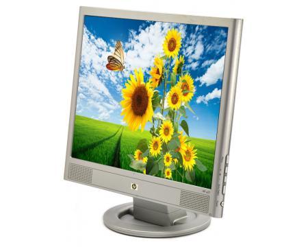 """HP VS17 17"""" Silver LCD Monitor - Grade A"""