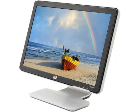 """HP W1907 19"""" Widescreen Black/Silver LCD Monitor - Grade C"""