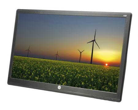 "HP V221 21.5"" Widescreen LED LCD Monitor - Grade A - No Stand"