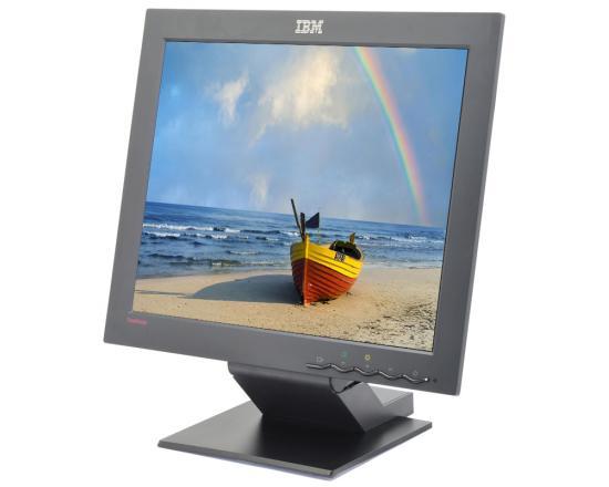 """IBM ThinkVision L170M 6734 17"""" Black LCD Monitor - Grade A"""