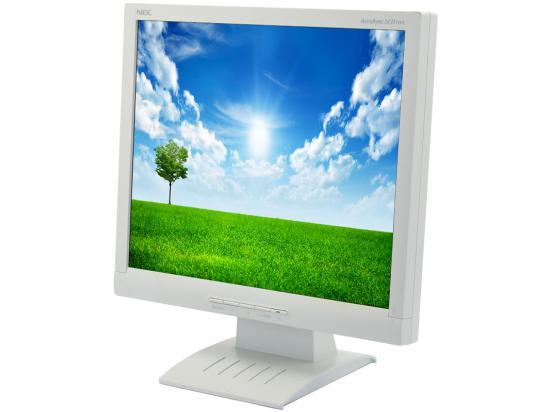 """NEC LCD72VX AccuSync - Grade A - White - 17"""" LCD Monitor"""