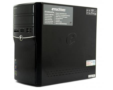 Acer Emachines ET1331G07W Tower Computer AMD Athlon II X2 250U 1.6GHz 2GB DDR2 250GB HDD
