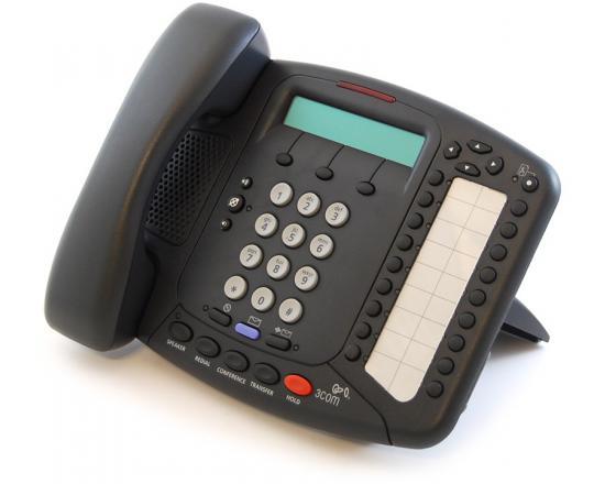 3Com NBX/VCX 3102B 18-Button Black Speakerphone - Grade A