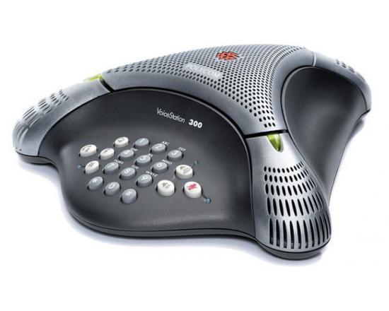 Polycom VoiceStation 300 Conference Phone Black (2200-17910-001)