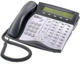 "Tadiran Coral Flexset IP 280S Charcoal Display Phone Version 3.xx - Silver Face ""C-Stock"""