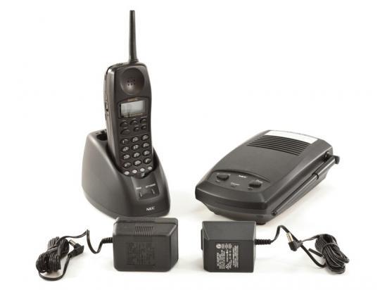 NEC Dterm DTR-4R-2  Black Cordless Phone (730088)