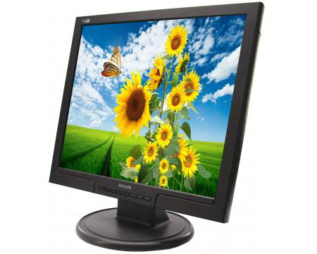 """Philips 190S7 19"""" LCD Monitor - Grade A"""
