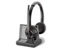 Plantronics Savi 8220 Office Wireless DECT Headset - Microsoft