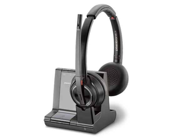 Plantronics Savi 8220-M Office Wireless DECT Headset - Microsoft