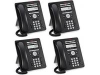 Avaya 9508 Black Digital Display Speakerphone - 4 Pack - Grade A