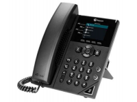 Polycom VVX 250 Black IP Display Speakerphone - Microsoft Skype