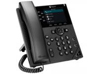 Polycom VVX 350 Black IP Display Speakerphone - Grade A