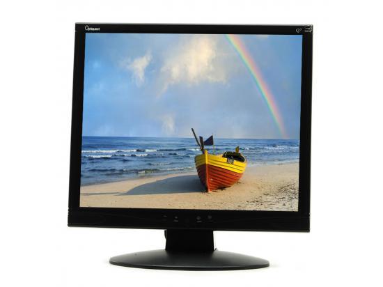 "ViewSonic Optiquest Q7b-3 17"" Black LCD Monitor - Grade A"