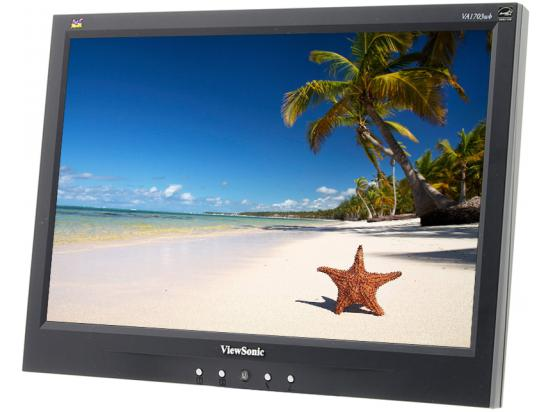 "Viewsonic VA1703wb 17"" Widescreen LCD Monitor - Grade A - No Stand"