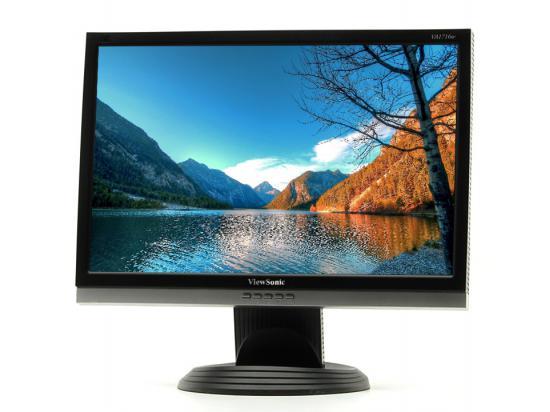"""Viewsonic VA1716w 17"""" Widescreen Black LCD Monitor - Grade A"""